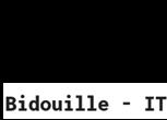 Bidouille - IT